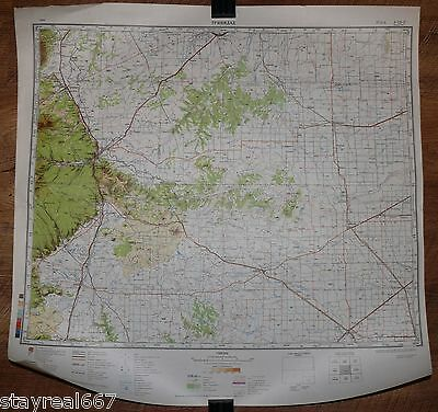 Soviet TOP SECRET Military Map Trinidad, La Junta, Clayton, State Colorado USA