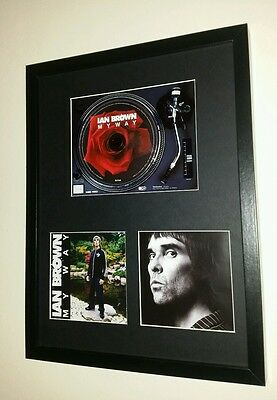 Ian Brown My Way Cd Album Presentation Display Manchester Vinyl Stone Roses