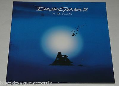 David Gilmour On An Island LP 180g Gatefold Vinyl + Poster 2015 Edition NEW/SLD