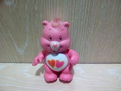 Care Bears Love a Lot Vintage Poseable Toy Figure Nice Condition