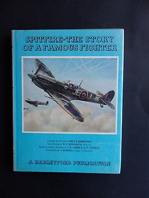 Spitfire-The Story Of A Famous Fighter Hardback Book By Bruce Robertson Ww2