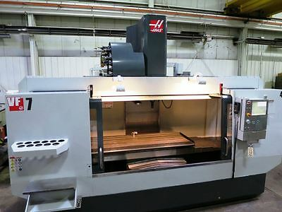 "84"" X 32"" Haas Vf-7/50 Cnc Vertical Machining Center New 2012"