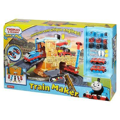 Thomas & And Friends Take-N-Play Train Engine Maker Set Brand New In Box