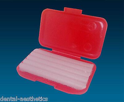 2 x Cherry Scented Dental Wax ~ 2 Boxes of 5 Strips ~ Orthodontic Braces Relief