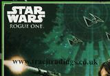 Topps Star Wars Rogue One No 111 Rebal Alliance 2 Puzzle Trading Card Comb P&p