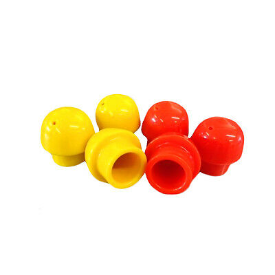 SCBA Industrial Cylinder Valve Thread Protector Cap in Orange - Free Shipping!