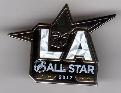 2017 Los Angeles All Star Collector Pin Puck Style Stanley Cup Final La Kings