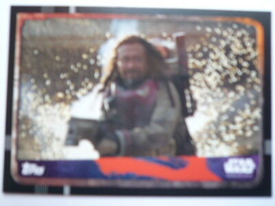 Topps Star Wars Rogue One No 138 Trading Card Comb P&p