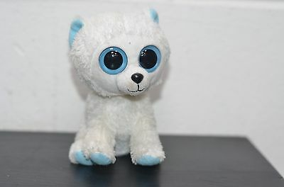 Ty Beanie Boos Gorgeous Big Eye Tundra the Polar Bear