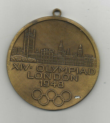 remembrance medal   XIV.Olympic Games LONDON 1948  !!  VERY RARE