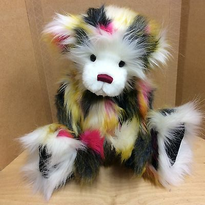 Charlie Bears Yummy Plush Jointed Bear New With Tags Now Retired
