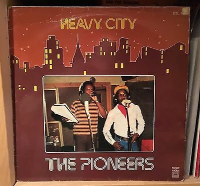 The Pioneers: Heavy City, Tabansi Nigeria Lp, Rare Reggae 1979