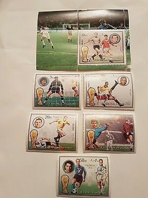 FUJEIRA  Stamps - 1974 World Cup Munich