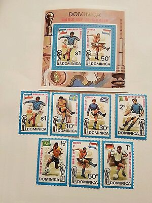 DOMINICA Stamps World Cup Munich 74