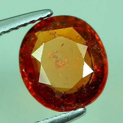 2.640 Cts Amazing Rare Unique Beautiful Natural Superb Hessonite Garnet Nr!!!!!!
