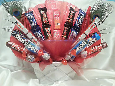 Unique Chocolate Bouquet Sweet Hamper Tree Explosion Perfect Gift Any Occasion