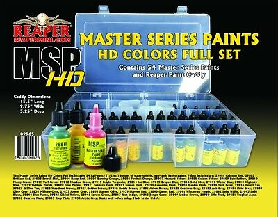 NEW Reaper Master Series HD Colors Paint Set 09965 Sealed