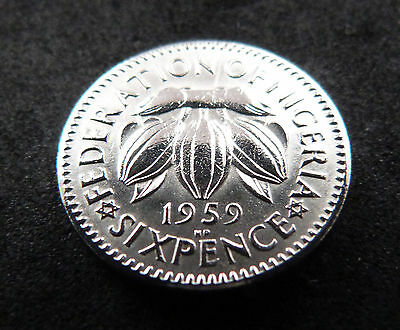 Sixpence Federation of Nigeria 1959