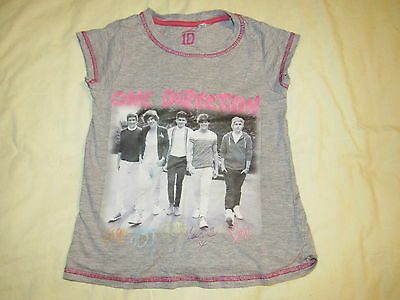 Girls One Direction T-Shirt Size 6-7 years