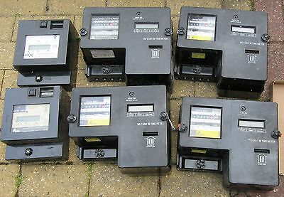6 x DMS/Matrix metering Card Electricity meters