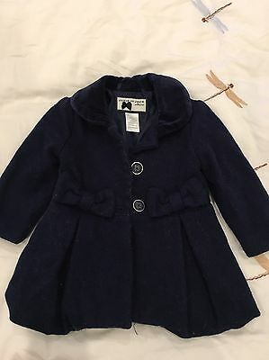 JANIE AND JACK BABY GIRLS COAT 6-12months