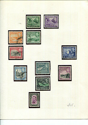 Cyprus Stamp Collection 1938-1955 British Empire On Hingeless Pages