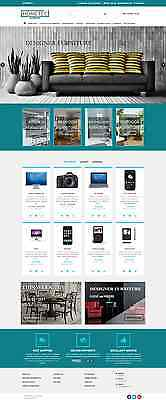 Ecommerce Website, Shopping Cart, Unlimited Colors Design, Free Domain & Hosting