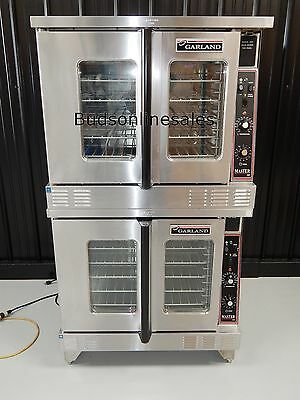 Garland Double Gas Commercial Convection Oven Bakery Pizza