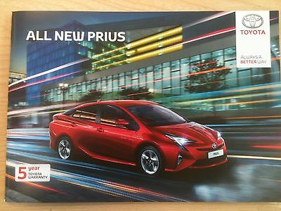 Toyota All New Prius Sales Brochure - May 2016 - 55 Pages