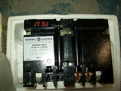 NEW***GE CR120C02022AA 300V RELAY LATCHED SERIES A 06Hz 10 Amp Free Shipping