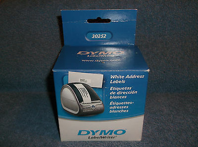 Dymo Labelwriter White Address Labels 30252 - New In Box - 700 Labels