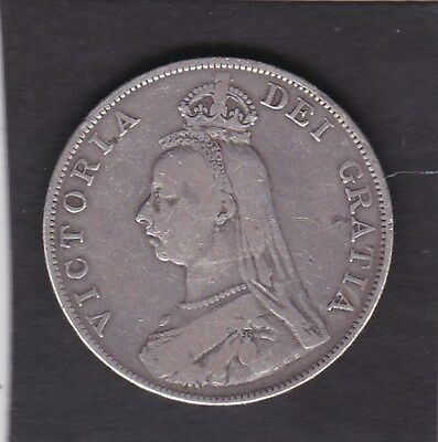 GB  1890 Victorian  Double Florin