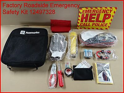 GM Accessories Factory Roadside Emergency Safety Kit 12497328