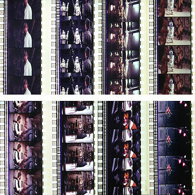 RARE - 8 x 35mm Film Cells - Star Wars Special Edition (1997) Han Solo & Jabba