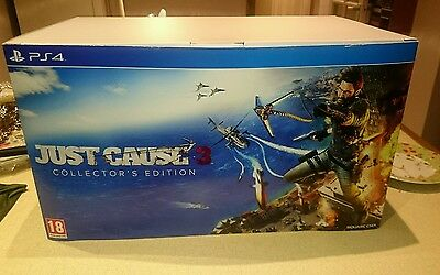 Just Cause 3 PS4 Collector's Edition COMPLETE BOX!!