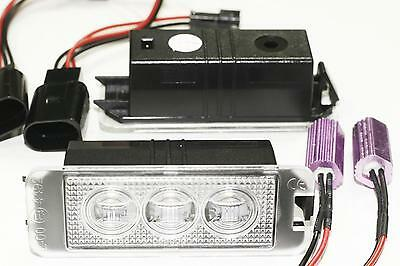 LEDPremium 2x LED NUMBER PLATE LIGHTS VW GOLF 4 5 6 7 CANBUS MATRICULA TARGA