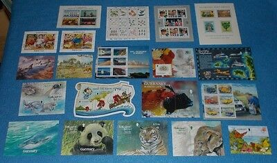 Guernsey Mint Stamp Miniature Sheets - Select Individual Miniature Sheet