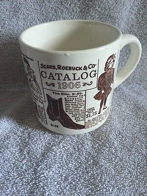 Sears Robuck & Co Catalog Vintage Coffee Cup