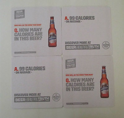 Beer Coasters Set Of 4 Hanh Superdry The Beautiful Truth Great Collectors Set