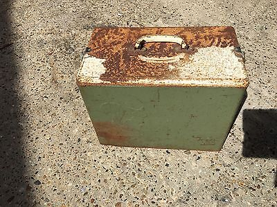 Vintage Esky Ice Cooler-  Pal Brand With Squirrel Embossed. Rare?