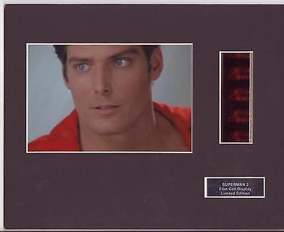 Superman 2 Film Cell Display Limited Edition Very Rare