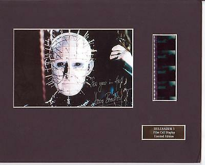 Hellraiser 3 Film Cell  Display Limited Edition