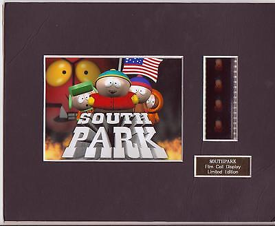 South Park The Movie Film Cell Display Limited Edition