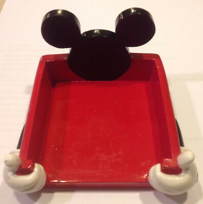 Disney/Mickey Mouse Ears Desk Accessory-Notepad/Post-It Note Holder