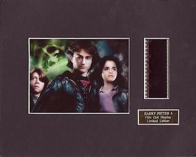 Harry Potter 4 Film Cell Display Limited Edition Rare