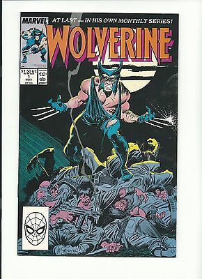 Wolverine Comics 1 8.5 VF+1988 1st series great book!