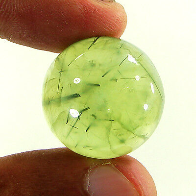 48.90 Ct Natural Beautiful Prehnite Loose Cabochon Gemstone Stone - R2044