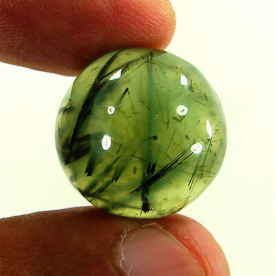 39.00 Ct Natural Beautiful Prehnite Loose Cabochon Gemstone Stone - R2052