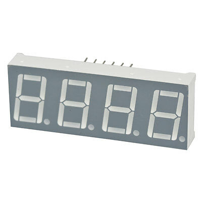 Green 4-Digit 7-Segment LED Display 3 pcs