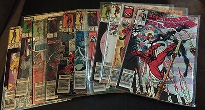 The Spectacular Spiderman Marvel 137-141 147-151, 229,NM 1989 (Lot 10)